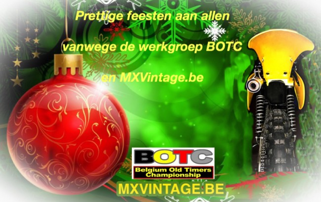BOTC en MXVintage wensen u fijne feesten toe.