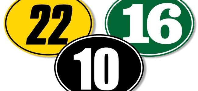 BOTC 2019: Kleuren nummerborden blijven ongewijzigd!