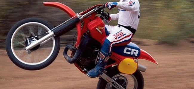 Iconische crossmotoren: De Honda 480R van 1983.