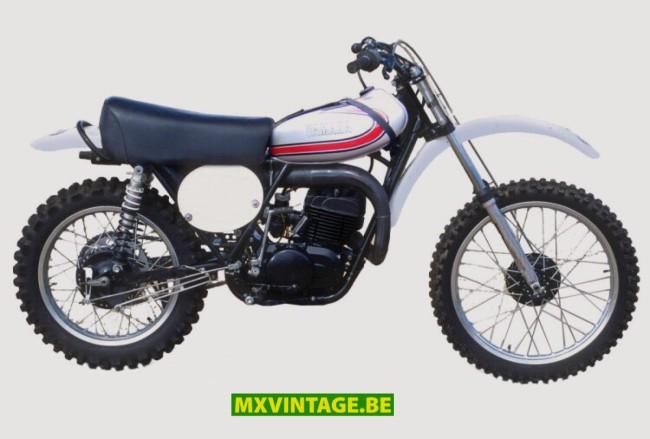 Iconische crossmotoren: De Yamaha YZ360 van 1974.