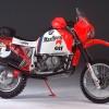 Eeerbetoon aan Gaston Rahier met BMW R1100 GS Replica!