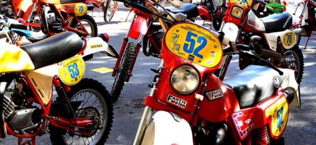 Europees kampioenschap Vintage Enduro op eiland Elba (IT)