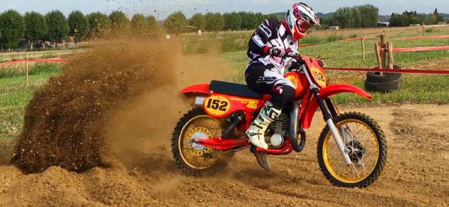 Vintage motorcross Wambeek: Video van de twinshocks!