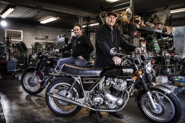 Frans Apers in De Tijd: Ik heb wel 500 moto's gebouwd!