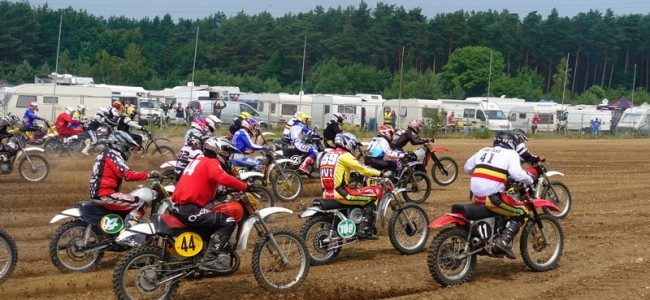 Le Championnat de Belgique Oldtimercross : quelques points d'important!