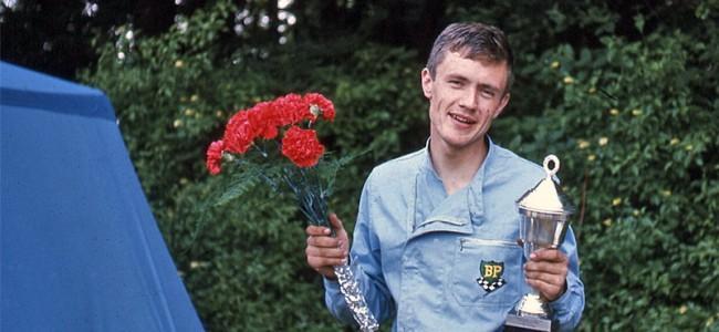 Een portret van de Zweedse motorcrosser Ake Jonsson!