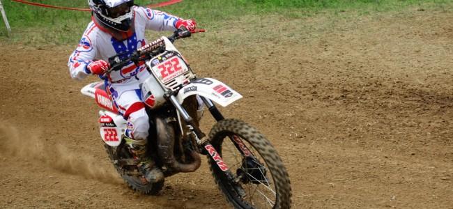 Oldtimercross Moresnet: Brugnetti wint 125cc klasse!