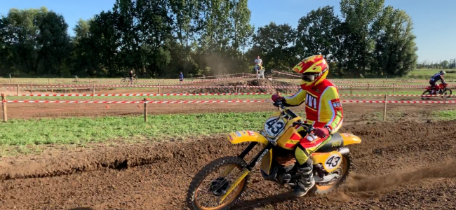 Video: De Oldtimer 125cc klasse in Broechem!