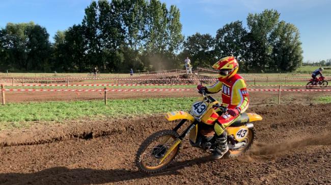 Video: De Oldtimer 125cc klasse in Broechem!