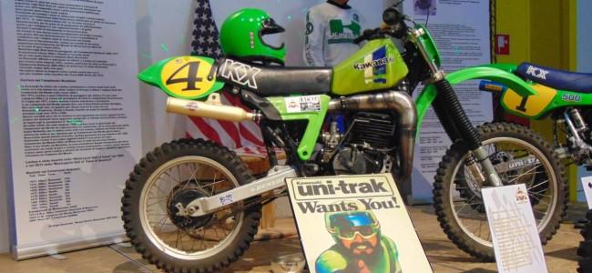 Het Kawasaki VMX Museum in Italië