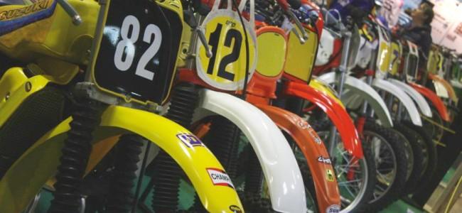 FOTO: Vintage crossers op de Motor Show Luxembourg