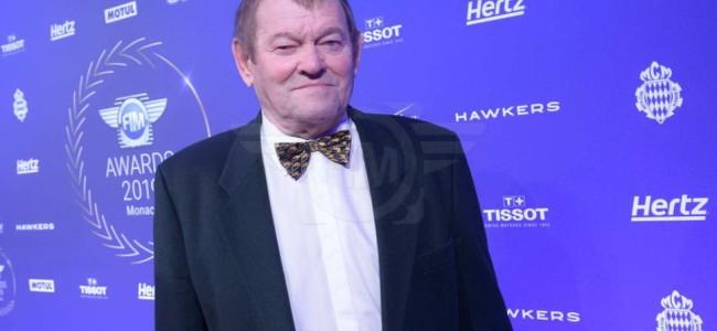 Joël Robert beloond voor zijn carrière op FIM-gala in Monaco