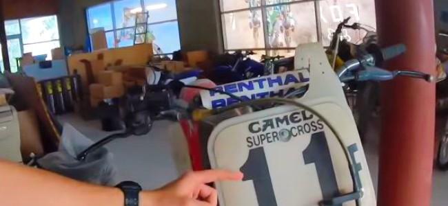 VIDEO: Een blik op de zolder van Mitch Payton