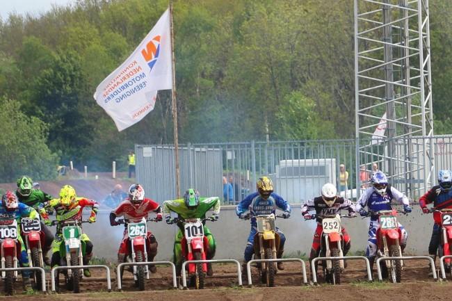 De kalender van het Nederlands kampioenschap Classic Motocross