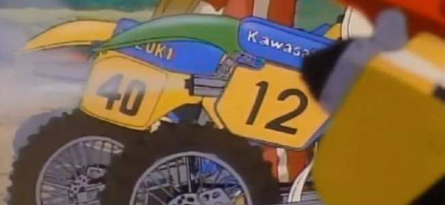 VIDEO: Vintage motocross animatiefilm uit Japan!