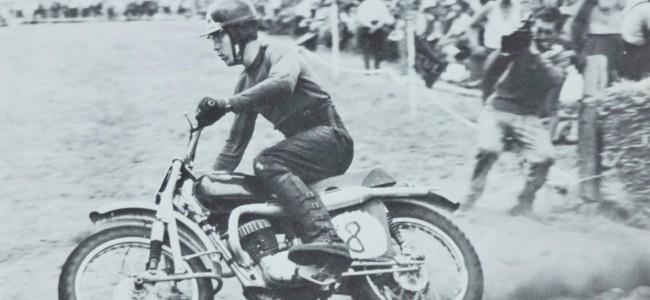 De Europese titel 250cc van 1959 is voor Rolf Tibblin!