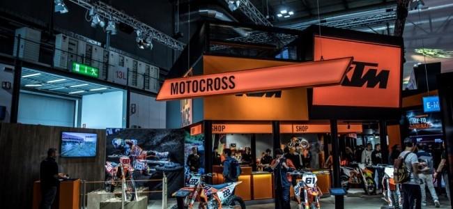 Ook KTM Group laat motorshows schieten