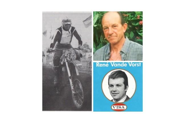 Motorcrosser René Van De Vorst is niet meer.