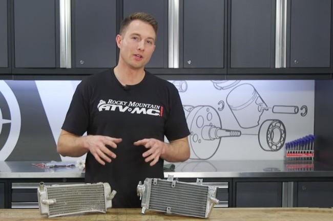 Techniek: een verbogen radiator herstellen.