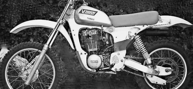 Het eerste aluminium frame in de motorcross!