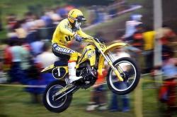 Het motorcrossjaar 1981: titels voor Malherbe en Everts