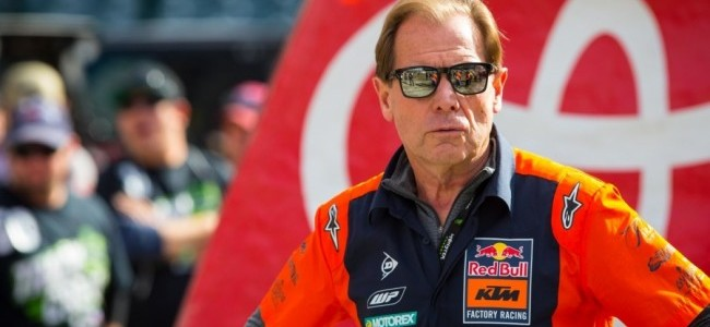 Roger De Coster verlengt contract bij KTM