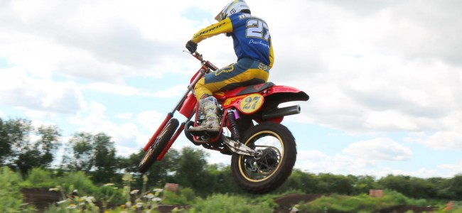 FOTO: Vintage motorcross trainingsdag in Vledderveen