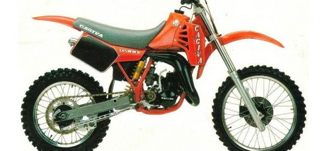 VIDEO: de legendarische Cagiva WMX125 in de kijker