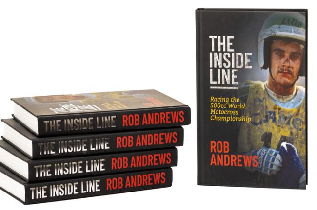 """""""The Inside Line"""" van Rob Andrews opnieuw verkrijgbaar."""