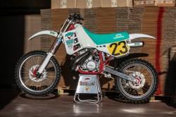 De KTM 500 MX van Johan Boonen gebouwd door Dirk Vansummeren