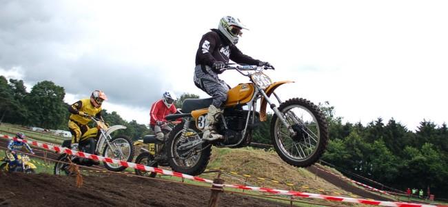 Info sur les enregistrements pour la motocross oldtimer de Retie