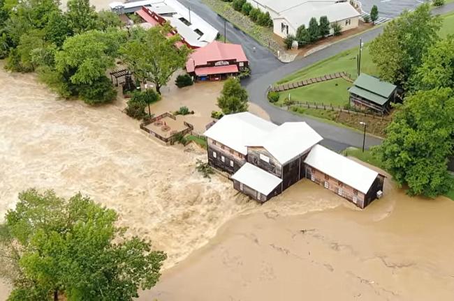 VIDEO: Loretta Lynn Ranch zwaar getroffen door overstroming